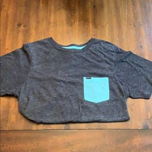 Hurley tee with pocket. Size S